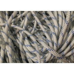 Alpin rope static 10,5mm biała