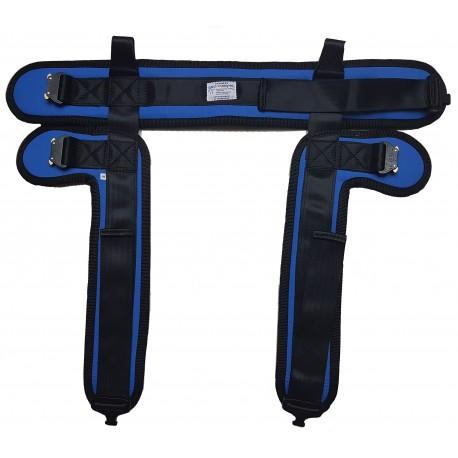 Harness s - blue